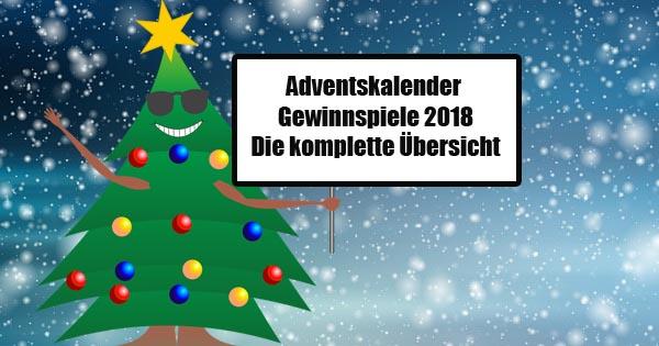Adventskalender Gewinnspiele Teil 1 A F