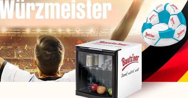Bautzner Gewinnspiel: 5 Mini-Kühlschränke und 50 Luftsitzsäcke zu ...
