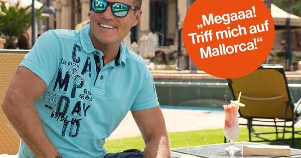 verfügbar baby abgeholt CAMP DAVID Gewinnspiel: Trip nach Mallorca inkl. Treffen mit ...