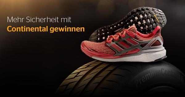 Adidas & Continental verlosen den neuen Boost Conti Grip