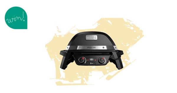Weber Elektrogrill Pulse : Super mega grill gewinn: weber grill pulse 2000 im wert von 849