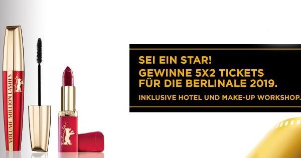 Rossmann Loréal Paris Berlinale Gewinnspiel Reise Zu Den