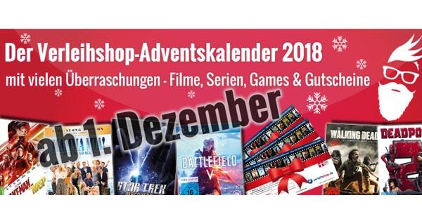 Verleihshopde Adventskalender Gewinnspiel 2018