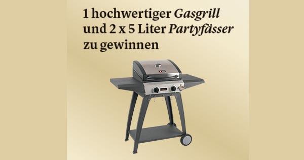 Warsteiner Sommer Gewinnspiel Gasgrill Und Warsteiner Partyfässer