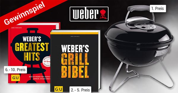 Weber Holzkohlegrill Smokey Joe : Weltbild weber grill gewinnspiel: weber smokey joe premium grill und