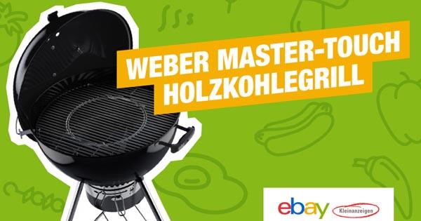 Weber Holzkohlegrill Master Touch : Von weber master touch gbs holzkohlegrills zu gewinnen